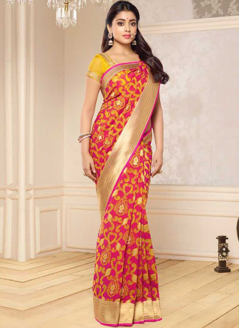 bridal banarasi saree