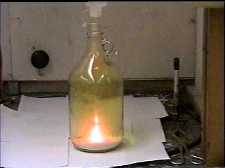Demonstrations Sodium Chlorine