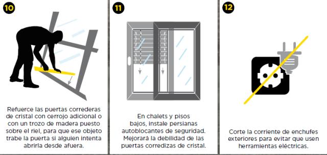 Consejos de protección contra el robo en viviendas 2