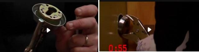 escudos arrancados en 1 minuto