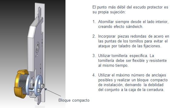 consejos de instalacion escudos de seguridad by angel olleros