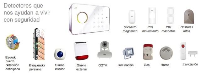 detectores de seguridad para casa segura