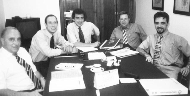 Equipo Directivo Kaba España 1992