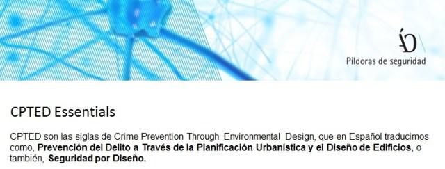 Prevención del delito residencial CPTED España