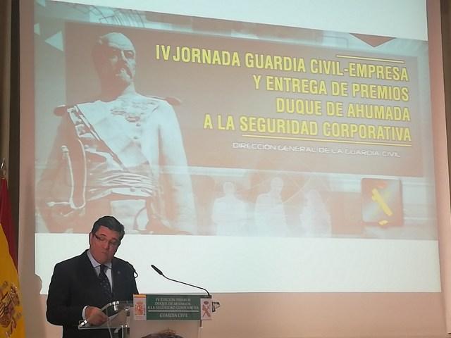 director general guardia civil premios duque de ahumada