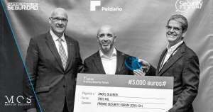 Angel Olleros premio innovación Security Forum 2019
