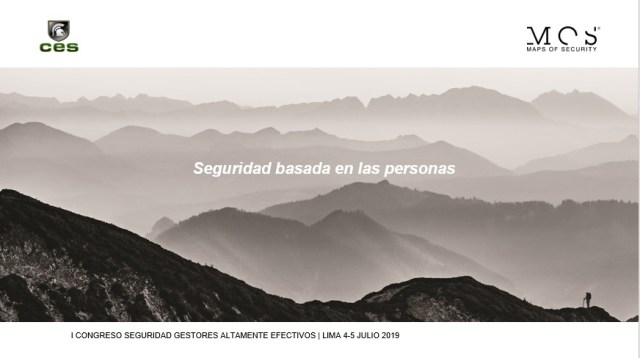 Seguridad basada en la personas by Maps of security