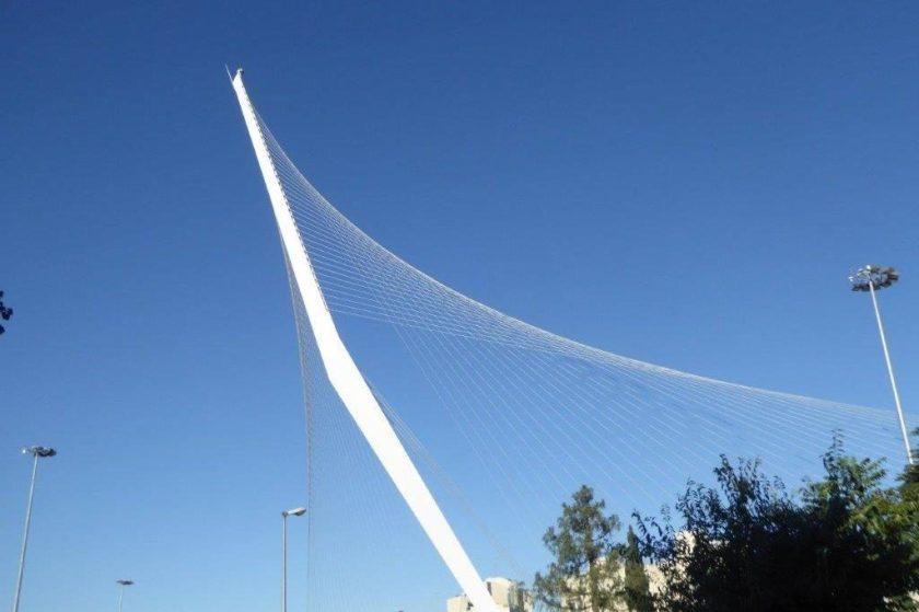 Calatrava-Brücke Jerusalem