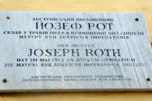 Gedenktafel Joseph Roth