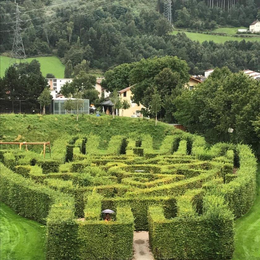 Das Labyrinth von Andre Heller