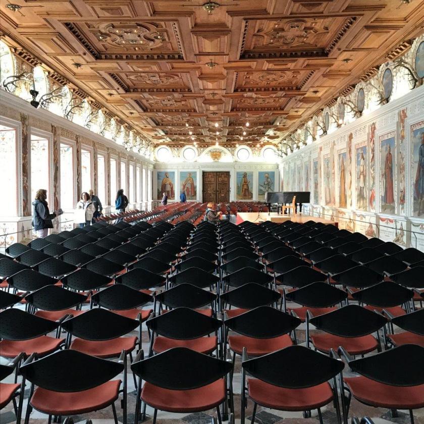 Spanischer Saal Schloss Ambras