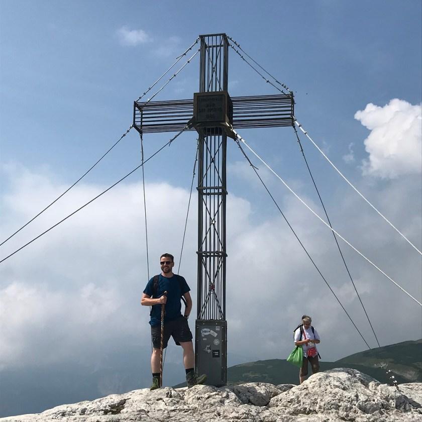 Waxriegel (1.888 m) oberhalb der Station Hochschneeberg