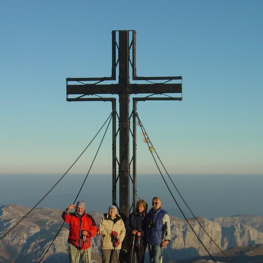 Hochschwab am frühen Morgen (2.277 m)