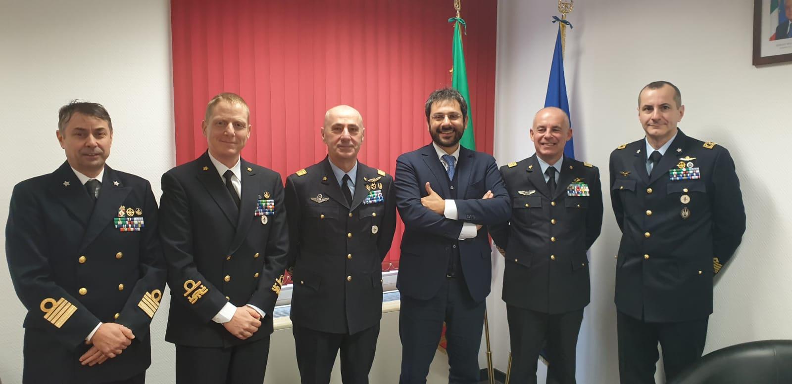 Angelo Tofalo fa visita alla Rappresentanza permanente d'Italia presso l'Unione europea