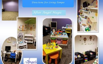 New Angel Magic Visitation Room at Directions For Living, Tampa