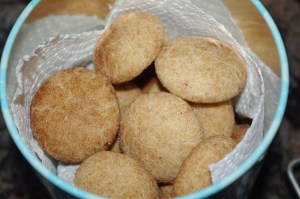 snickerdoodle biscuits