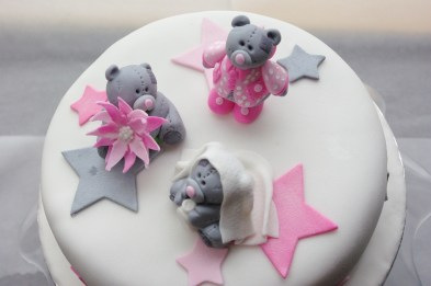 tatty bear theme cake, custom sugarpaste bears, chocolate cake