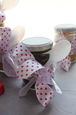 chocolate cupcake-in-a-jar, body thrills valentines