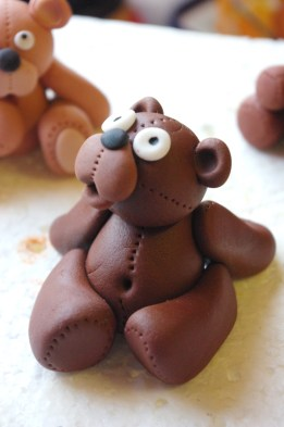 custom made sugarpaste bear