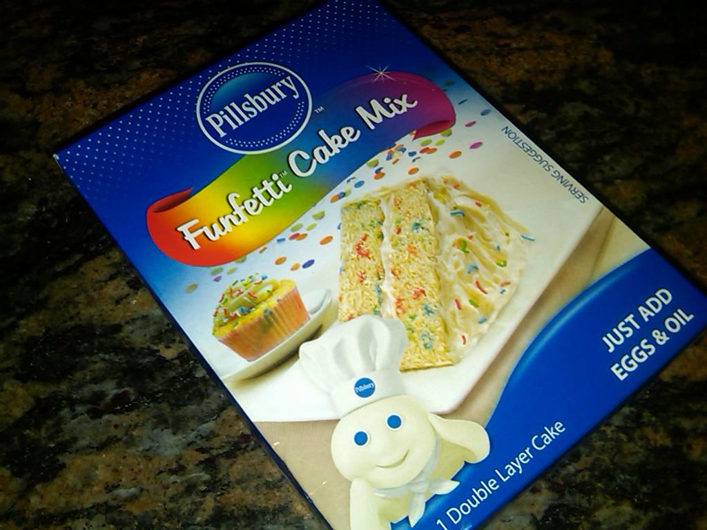 I Made Cookies With Pillsbury Funfetti Cake Mix