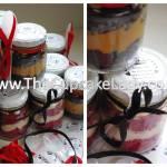 Cake artist, sugar artist, Vorna Valley, Midrand. cupcake-in-a-jar, wedding favour, party favour