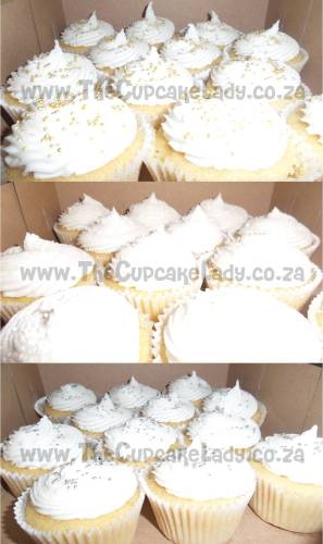 gluten free, lactose free, dairy free, vanilla cupcakes