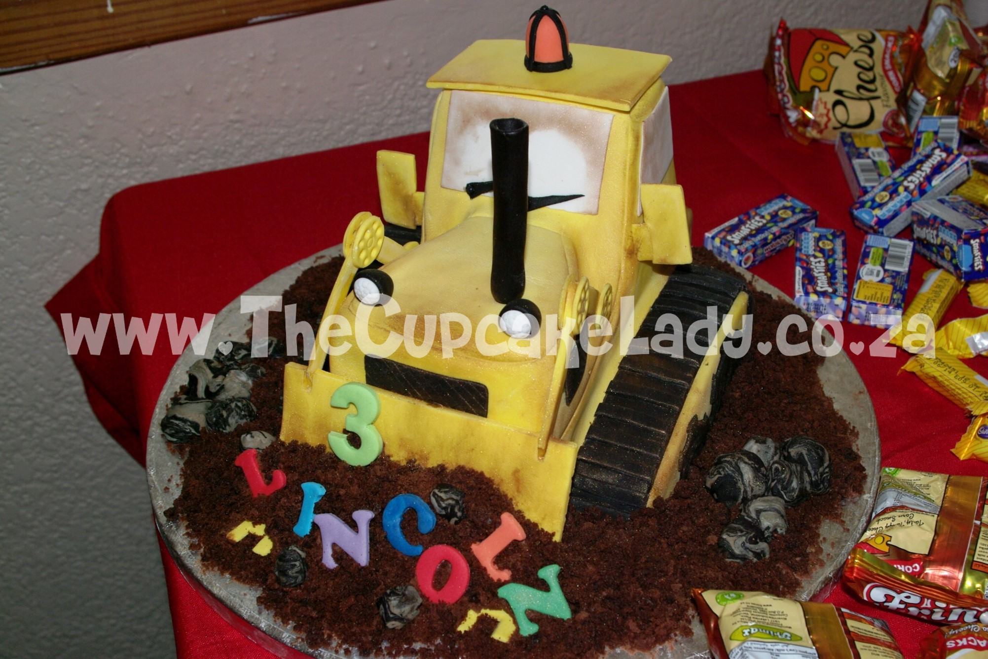 Marvelous My Nephews Birthday Bulldozer Personalised Birthday Cards Beptaeletsinfo