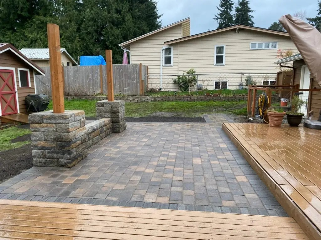 paver patios seattle angel s landscaping