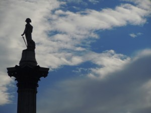 Lord Nelson Towering Above London