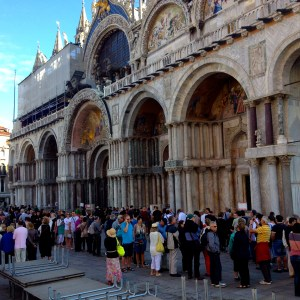 Crowded St Marks