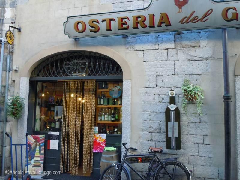 A classic Osteria. Como, Italy