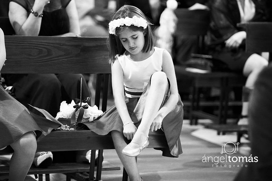El zapato. Boda María y Salva. Ángel Tomás Fotógrafo de bodas en Córdoba.