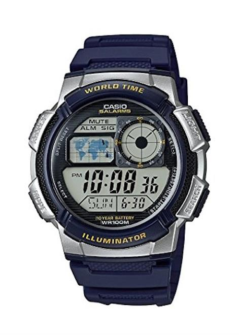 CASIO Mens Wrist Watch MPN AE-1000W-2A