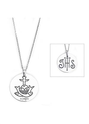 AMEN NECKLACE MODEL IHS MPN CLOSM 35MM