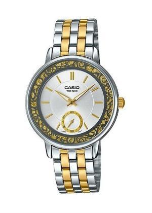 CASIO Ladies Wrist Watch MPN LTP-E408SG-7A