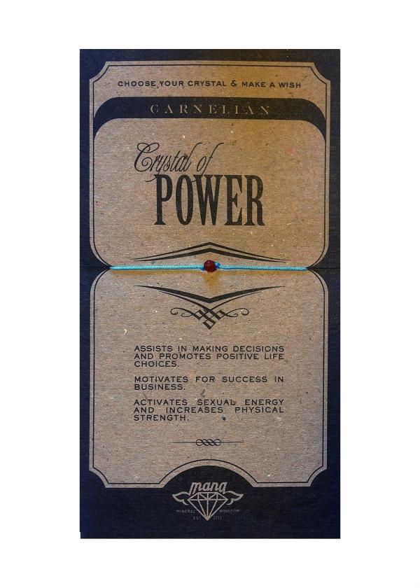 MANA MK JEWELLERY ITEM MODEL CARNELIAN/POWER MPN MANAENGC04