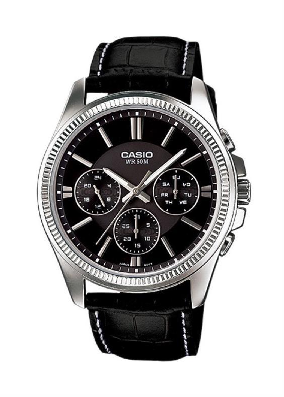 CASIO Mens Wrist Watch MPN MTP-1375L-1