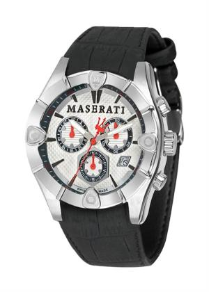 MASERATI Mens Wrist Watch Model MECCANICA MPN R8871611006