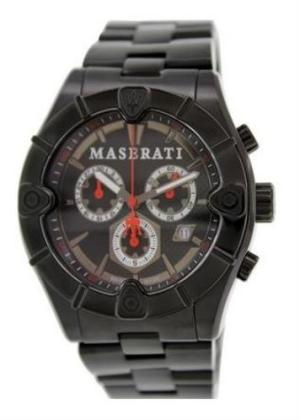 MASERATI Mens Wrist Watch Model MECCANICA MPN R8873611001