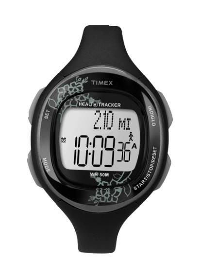 TIMEX Ladies Wrist Watch Model HEALTH TRACKER DISTANCE SENSOR MPN T5K486
