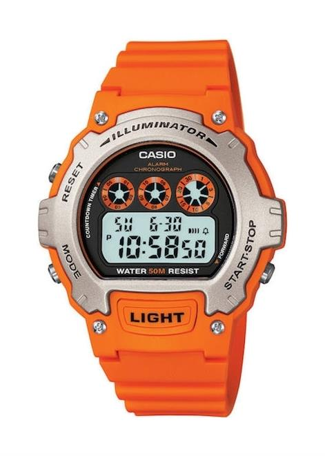 CASIO Mens Wrist Watch Model SPORT MPN W-214H-4A