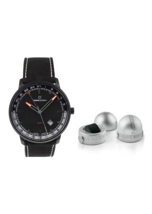 MOMO DESIGN Mens Wrist Watch Model ESSENZIALE GMT MPN MD6005BK-12