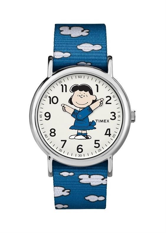 TIMEX Unisex Wrist Watch Model PEANUTS - LUCY MPN TW2R41300