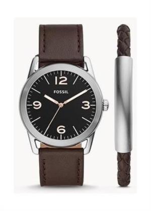 FOSSIL Gents Wrist Watch Model LEDGER +- BRACELET MPN BQ2465SET