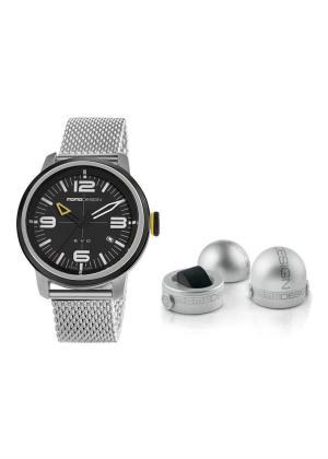 MOMO DESIGN Gents Wrist Watch Model EVO THREE HANDS MD1014SB-10