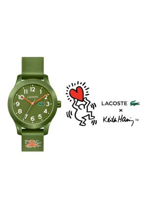 LACOSTE Childrens Wrist Watch Model 12.12 KEITH HARING 2030015
