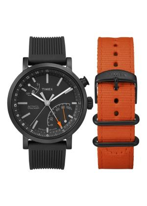TIMEX Gents Wrist Watch Model INTELLIGENT QUARTZ Special Pack + Extra Starp TWG012600