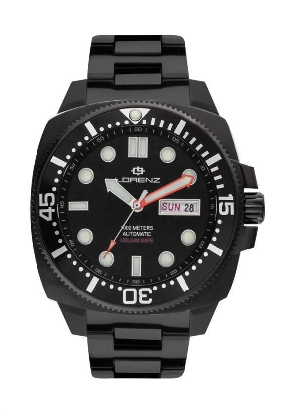 LORENZ Wrist Watch Model PROFESSIONAL DIVER HELIUM 030179AA