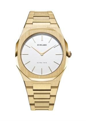 D1 MILANO Ladies Wrist Watch Model GOLD/EGGSHELL D1-UTBL03