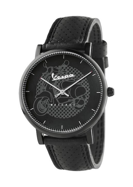 VESPA Unisex Wrist Watch Model CLASSY VA-CL01-BK-23BK-CP